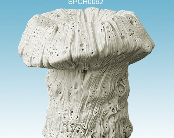 Giant cyst fungus for tabletop miniature game 28mm like saga, mordheim, dungeons and dragons