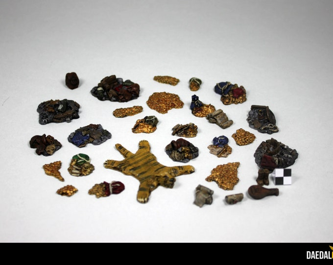 treasure accessories kit for miniature fantasy figurine games