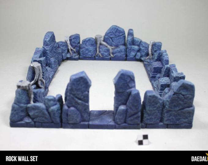 Hirst Arts - Resin cast rock walls for dnd , saga, warhammer fantasy