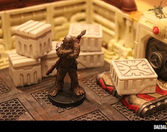 crates pack for scifi tabletop miniature games like star wars legion infinity