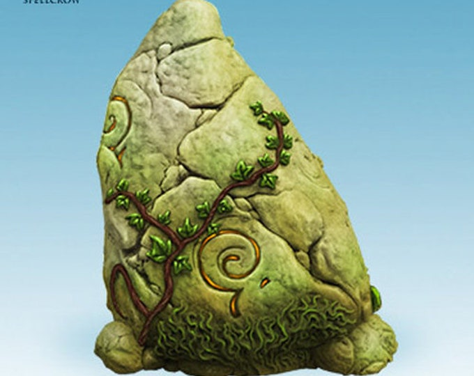 Menhir for tabletop miniature game 28mm like saga, mordheim, dungeons and dragons