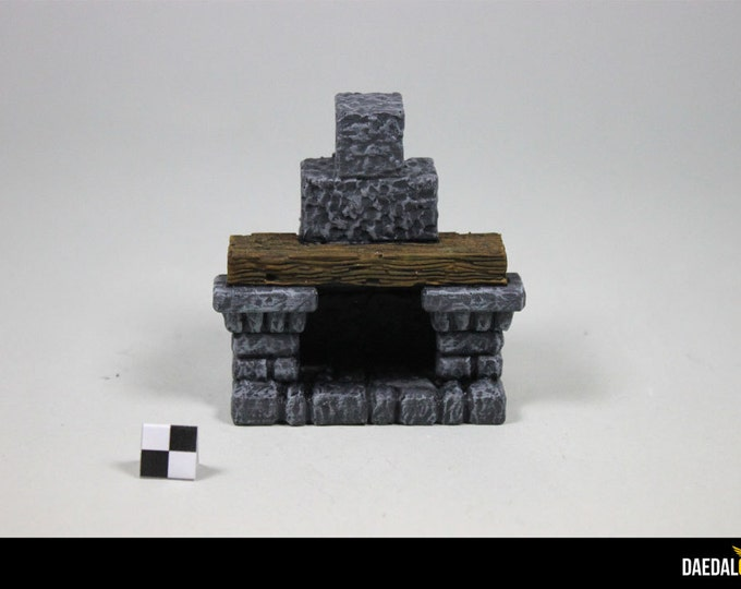 dungeons and dragons terrain : fireplace for dungeon tile heroquest dungeon saga