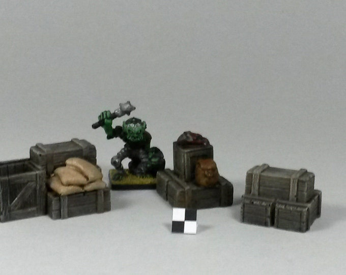 dungeons and dragons / warhammer : objective marker for miniature games