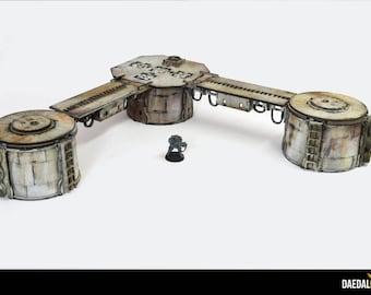 Cool Unit modular terrain for miniature wargames