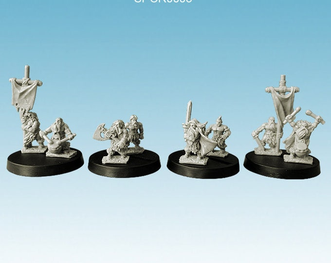 Barbarians - Warriors command group