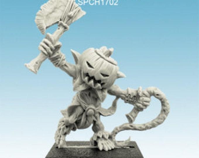 Pumpkin figurine : Dyniaq with whip