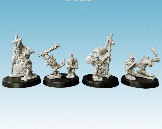 Reptilians - Warriors command group