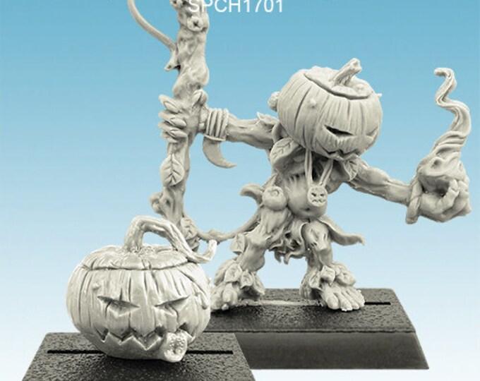 Pumpkin figurine : Dyniaq mage and Spawn