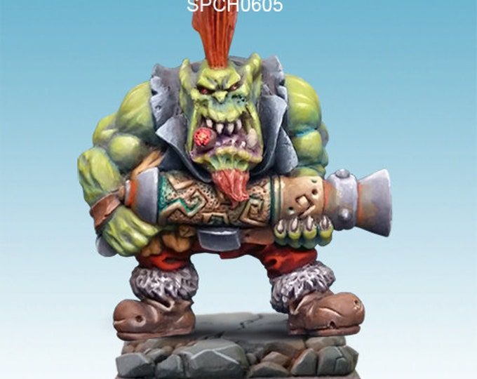 Orc with blunderbuss