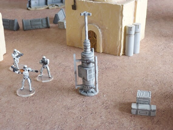 sci fi star wars legion terrain barricade set v2