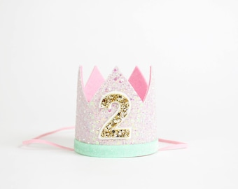 2nd Birthday Crown Of Glitter
