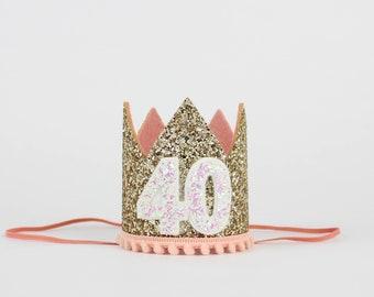 40th Birthday Hat
