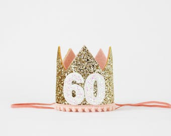 60th Birthday Crown