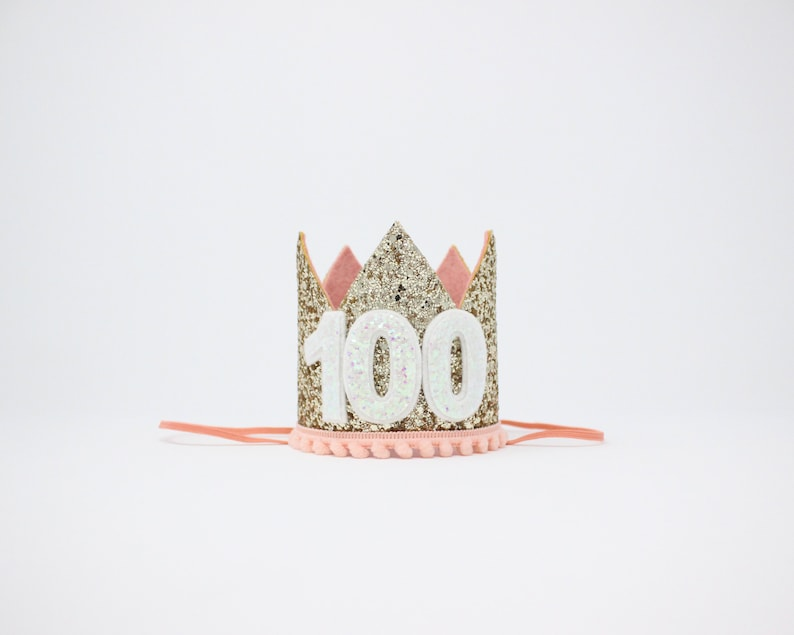 100th Birthday Crown Gift Her