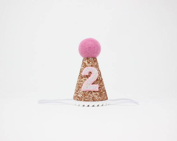 2nd Birthday Party Hat Girl