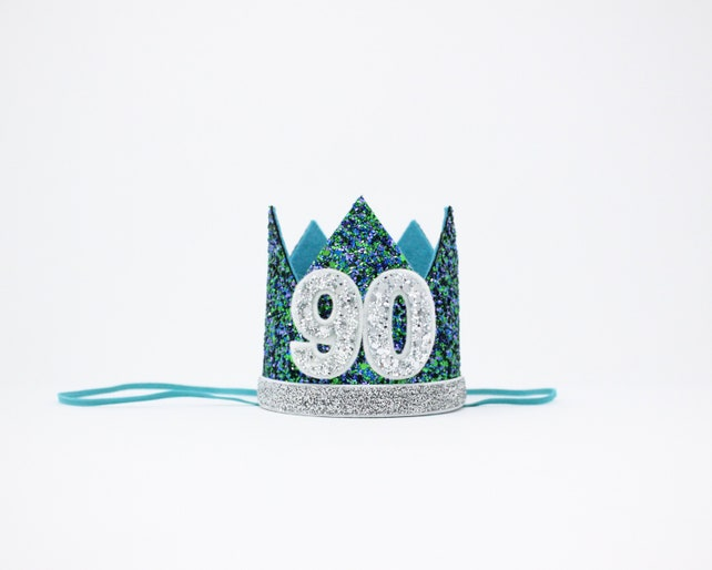 80th Birthday Crown