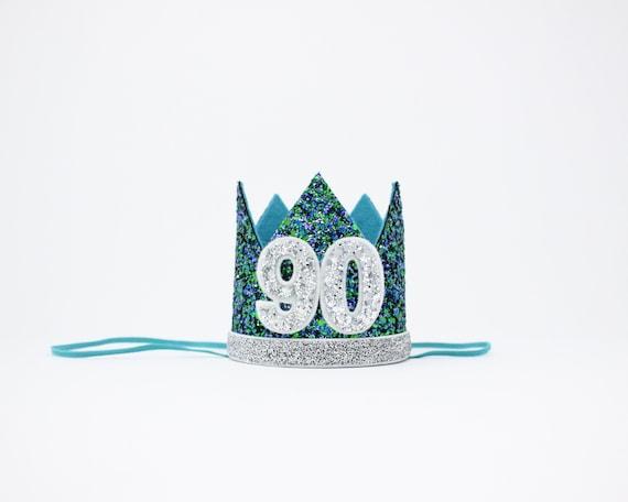 90th Birthday Crown Gift Him