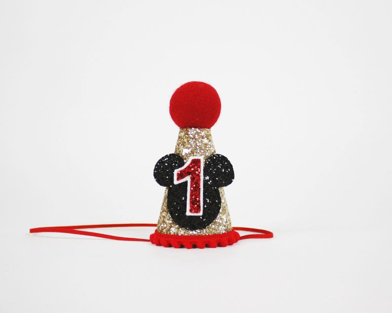 Mickey Mouse Birthday Hat Outfit