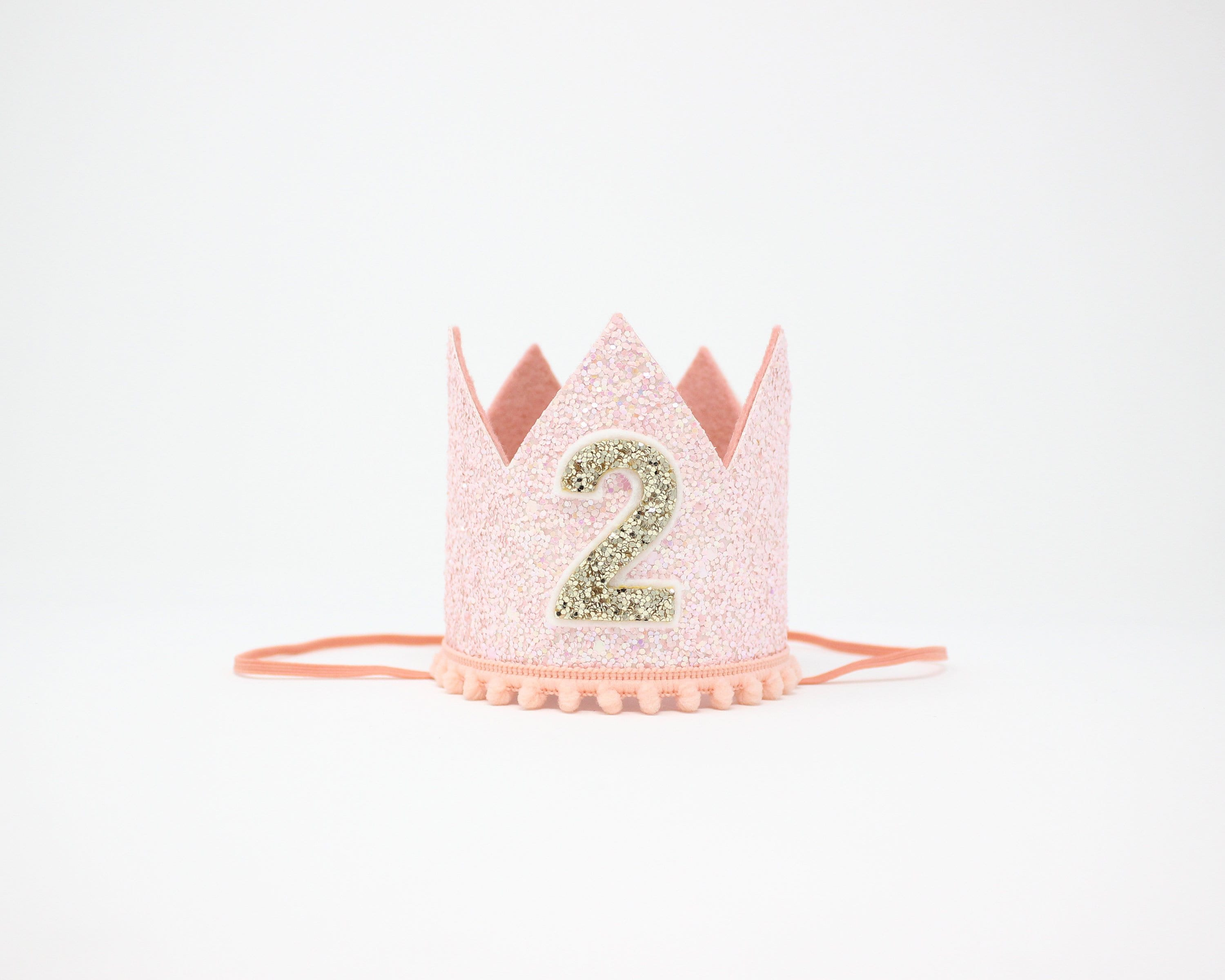 f60e9b14929 Birthday Crown of Glitter for 2nd Birthday Girl Second