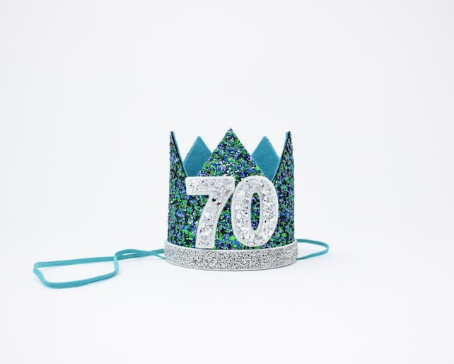 70th Birthday Crown