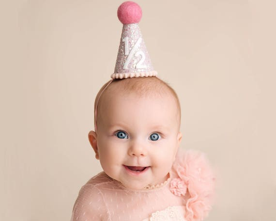 Half Birthday Girl Hat 1 2
