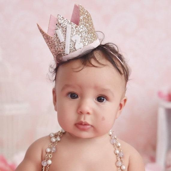 Half Birthday Girl Crown Hat 1 2