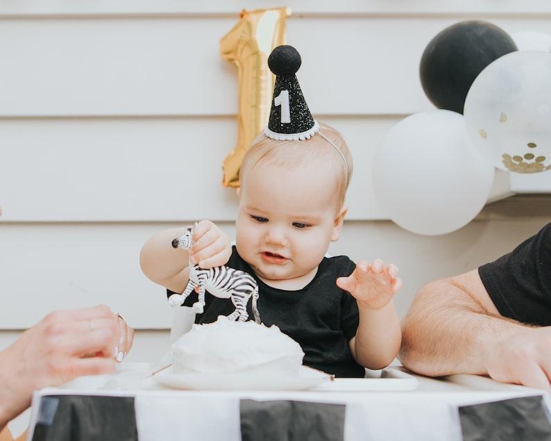 First Birthday Hat Boy 1st
