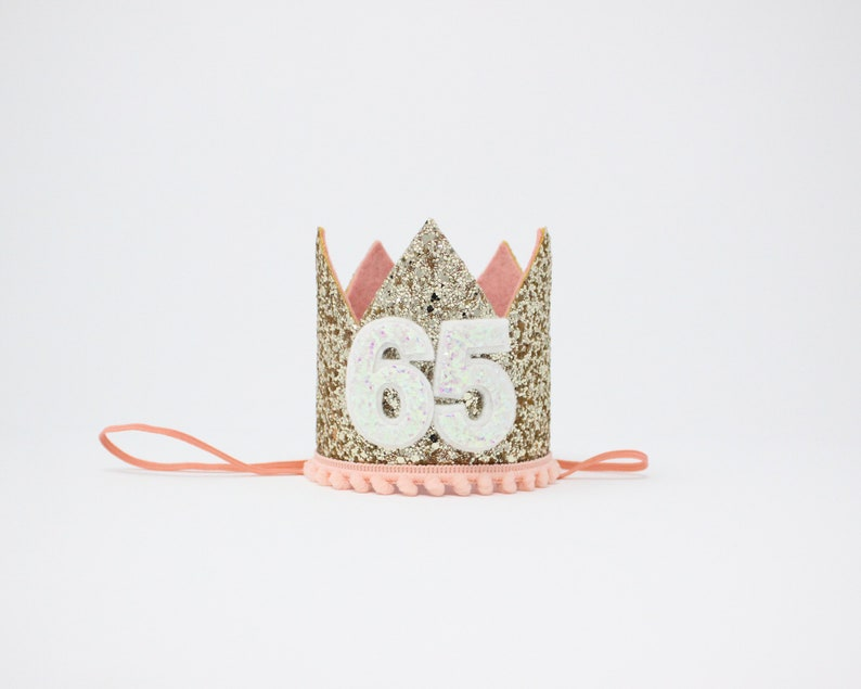 65th Birthday Crown Gift For Her