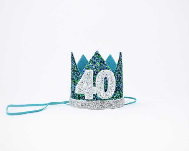 40th Birthday Crown