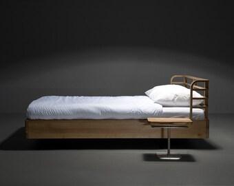 Exklusive MAZZIVO Bett 160 X 200 Bogen / OUTLET / König Größe / Solide Erle  / Liste Preis 1419eur