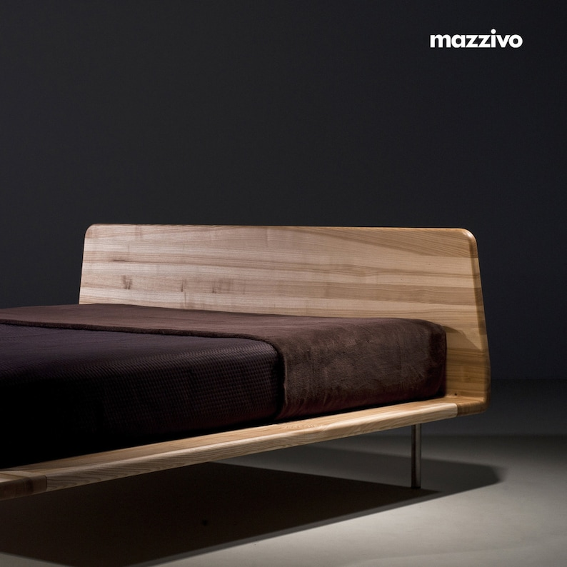 Letto 120 X 200.Mazzivo Exclusive Bed Letto Outlet 120 X 200 Solid Alder Etsy