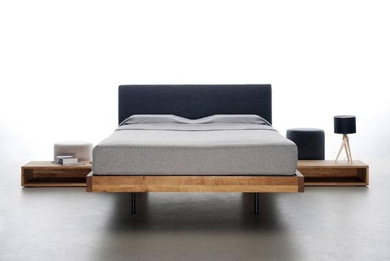 Letto 120 X 200.Modern Designer Bed Smooth 120 X 200 L Solid Alder Wood L Rrp Etsy