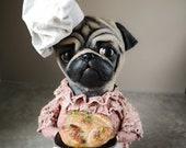 Kitchen Chef Pug