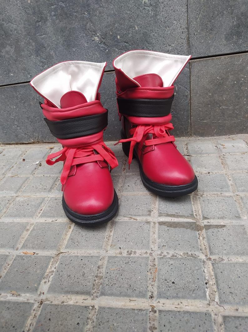 Tifa/'s boots cosplay Final Fantasy VII Remake