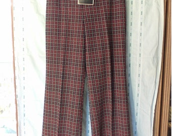 Vintage New Old Stock with tags Bradley polyester Pant's size 13-14