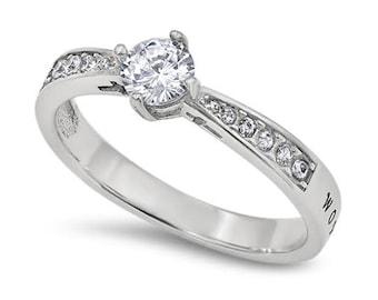"""Full of Hope Ring """"Woman Of God"""""""