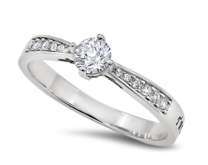 "Full of Hope Ring ""True Love Waits"""