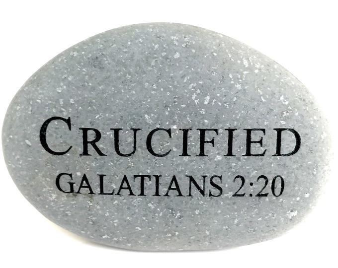 """Faith Rock """"Crucified"""""""