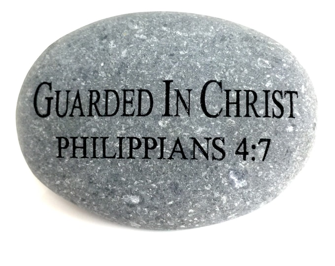 """Faith Rock """"Guarded in Christ"""""""