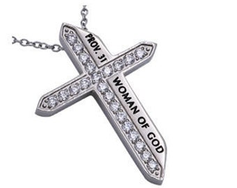 "Katana Cross ""Woman Of God"""