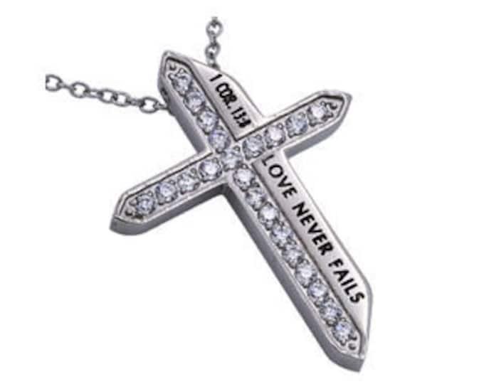 """Katana Cross """"Love Never Fails"""""""