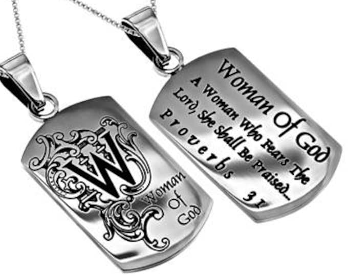 "Absolute Necklace ""Woman Of God"""