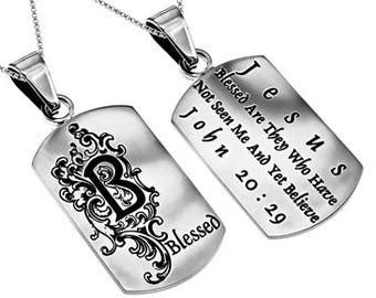 "Absolute Necklace ""Blessed"""