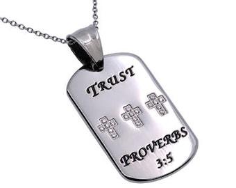"Calvary Tag ""Trust"""