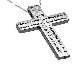 "Iron Cross ""Woman Of God"""