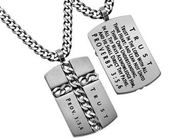 "Chain Cross ""Trust"""