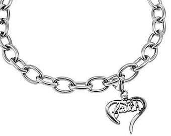 "Heart Bracelet ""Faith"""