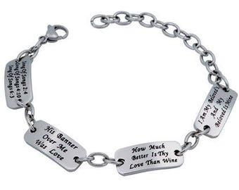 """Identity Bracelet """"Beloved"""""""