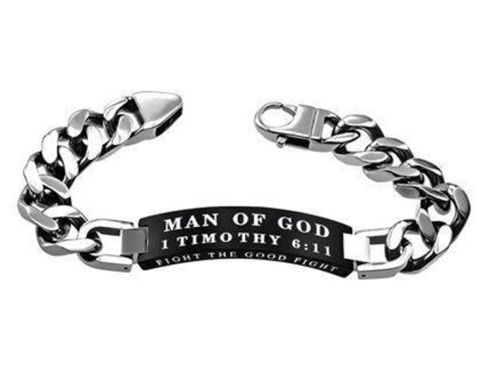 "Knight Bracelet ""Man Of God"""