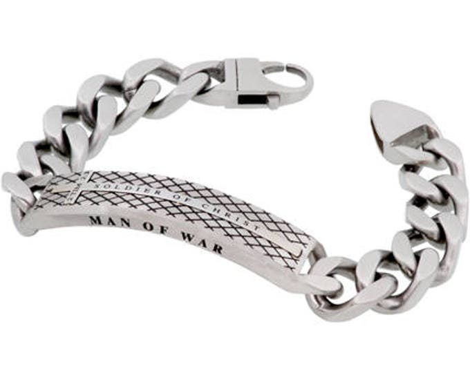"Diamond Back Bracelet ""Soldier Of Christ'"
